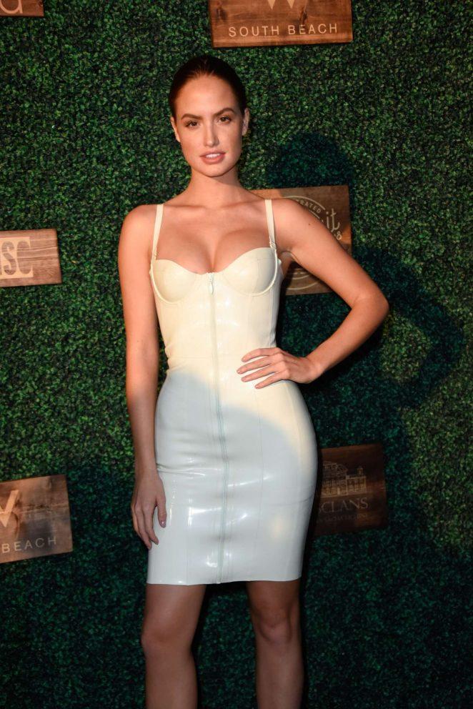 Hayley Kalil - 2018 Sports Illustrated Swimsuit Swim Week Party in Miami