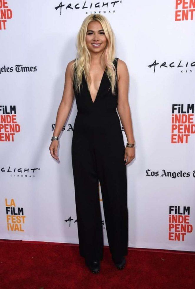 Hayley Kiyoko: Becks Premiere at LA Film Festival -01