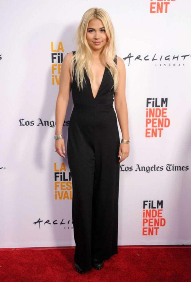 Hayley Kiyoko: Becks Premiere at LA Film Festival -03