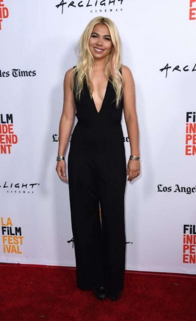 Hayley Kiyoko: Becks Premiere at LA Film Festival -05