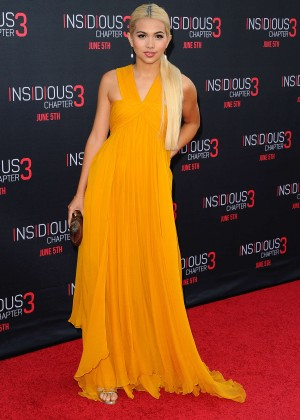 Hayley Kiyoko - 'Insidious: Chapter 3' Premiere in Hollywood