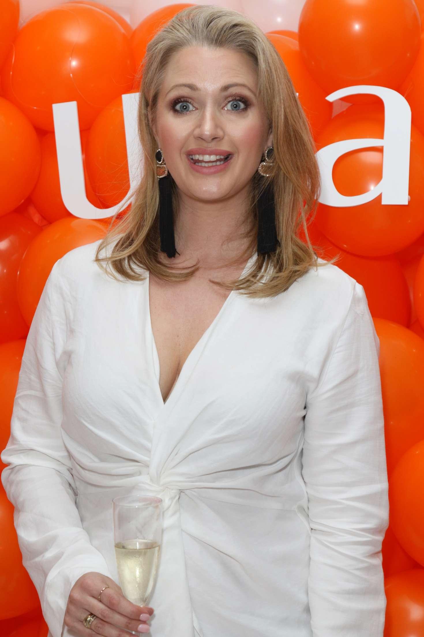 Hayley McQueen - Murad Skincare Launch Party in London