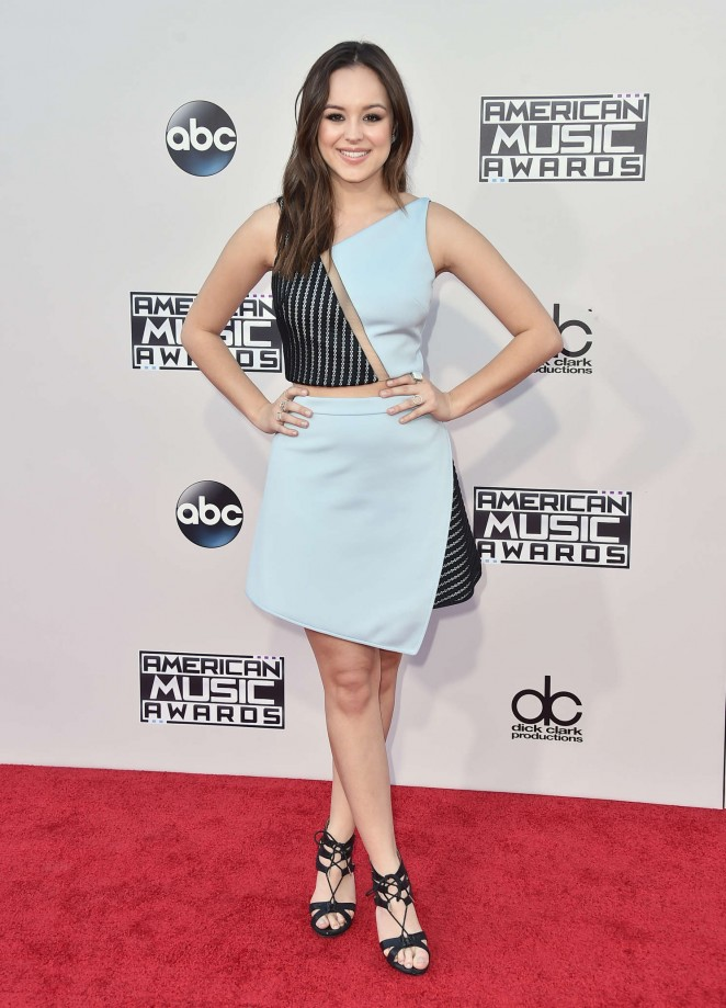 Hayley Orrantia - 2015 American Music Awards in Los Angeles