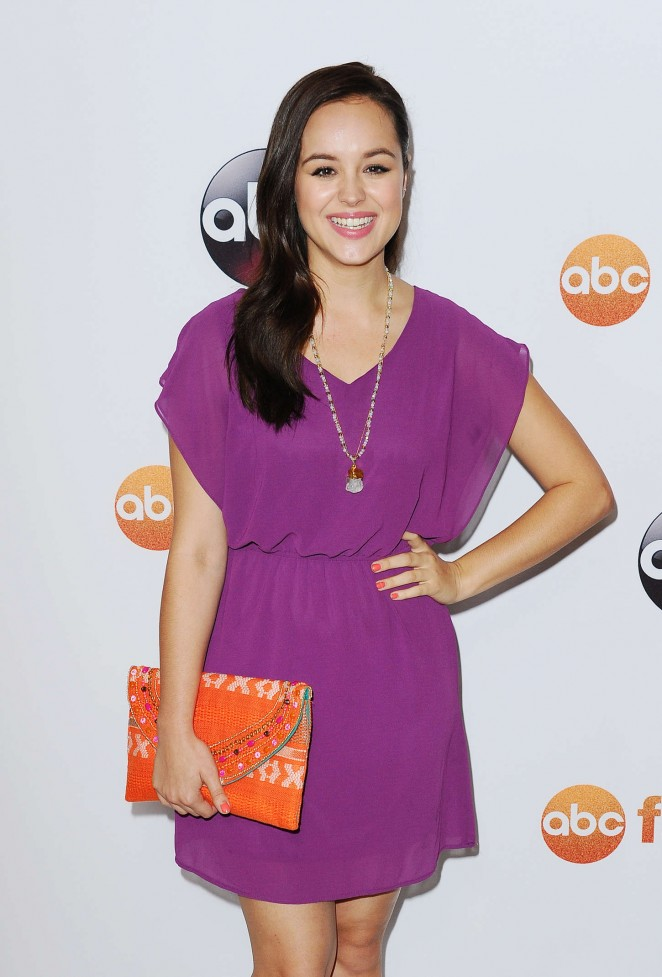 Hayley Orrantia - Disney ABC 2015 Summer TCA Press Tour Photo Call in Beverly Hills