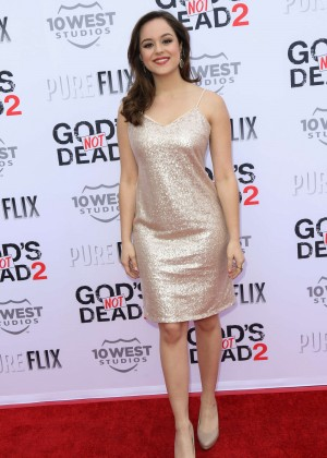 Hayley Orrantia - 'God's Not Dead 2' Premiere in Los Angeles