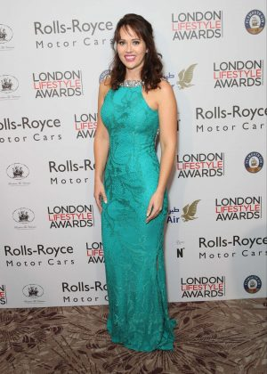 Hayley Sparkes - London Lifestyle Awards 2016 in London