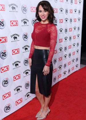 Hayley Sparkes -  OK! Magazine's 25th Anniversary Party in London