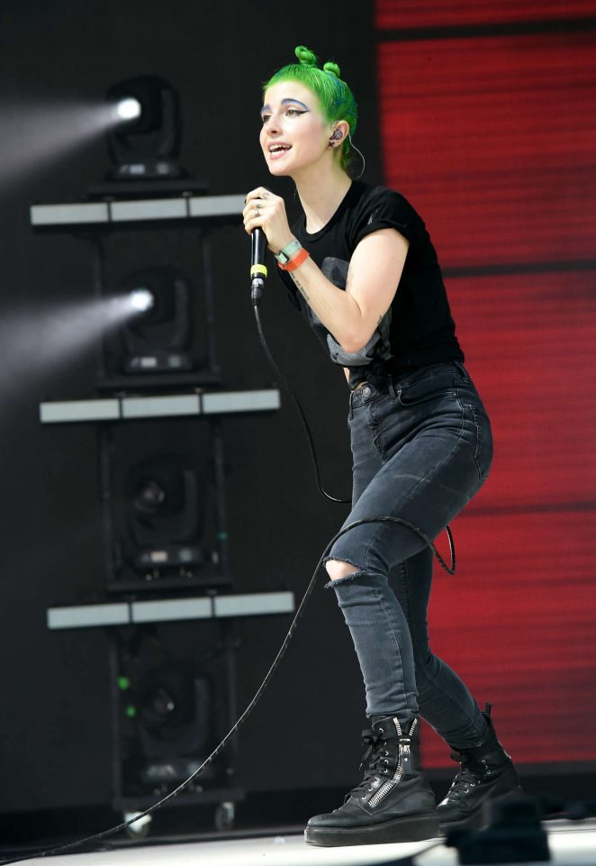 Hayley Williams - 2016 Bonnaroo Arts and Music Festival in Manchester