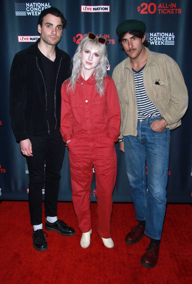 Hayley Williams - Live Nation Launches National Concert Week in New York