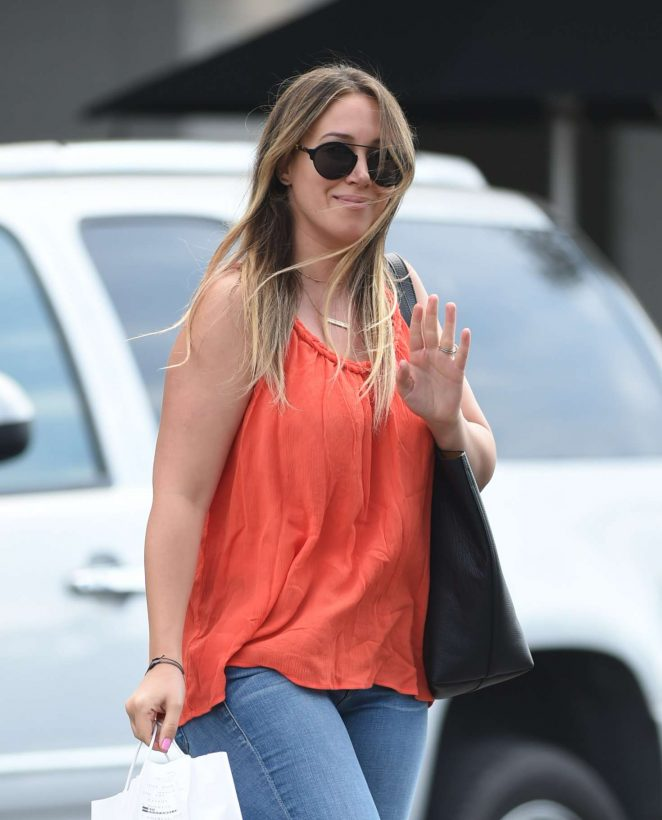 Haylie Duff at Joans On Third in Los Angeles