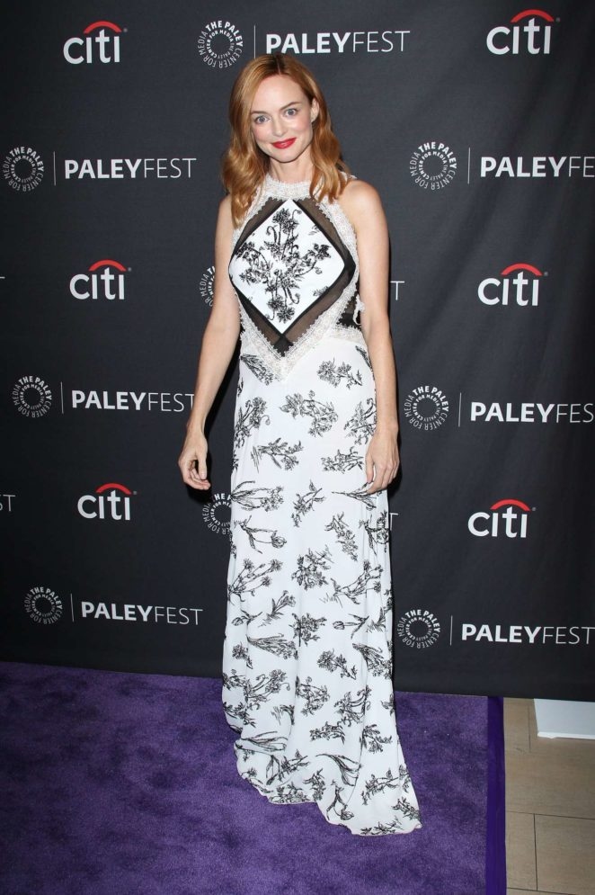 Heather Graham: 2017 Paleyfest Fall TV Preview in Los Angeles-04