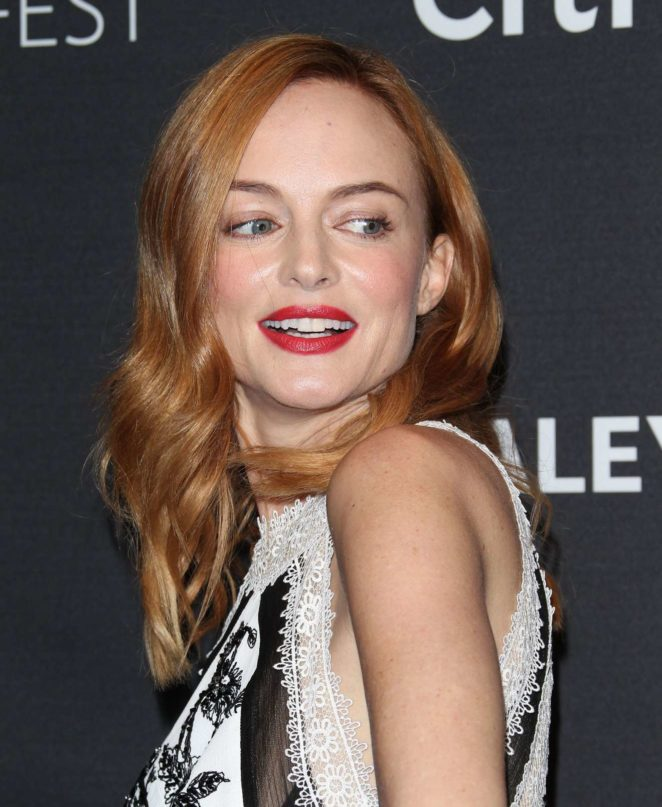 Heather Graham: 2017 Paleyfest Fall TV Preview in Los Angeles-05