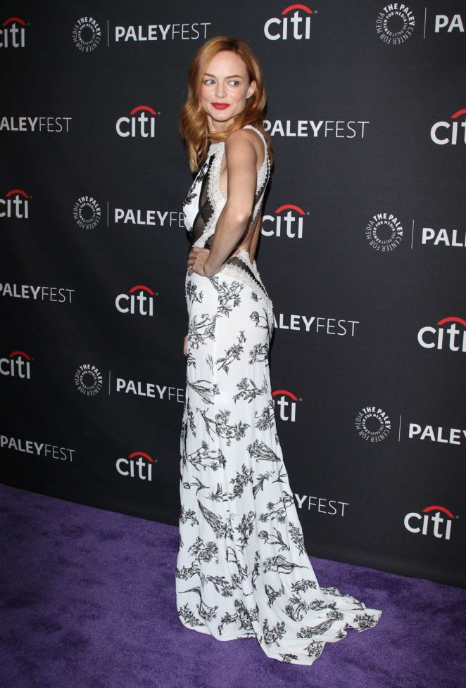 Heather Graham: 2017 Paleyfest Fall TV Preview in Los Angeles-06