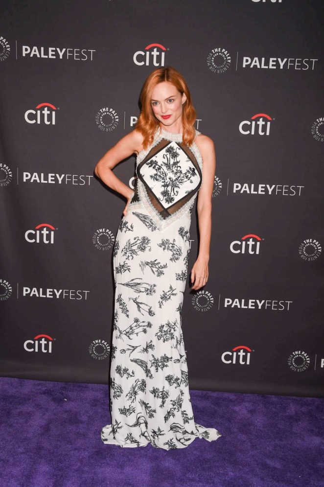 Heather Graham: 2017 Paleyfest Fall TV Preview in Los Angeles-08
