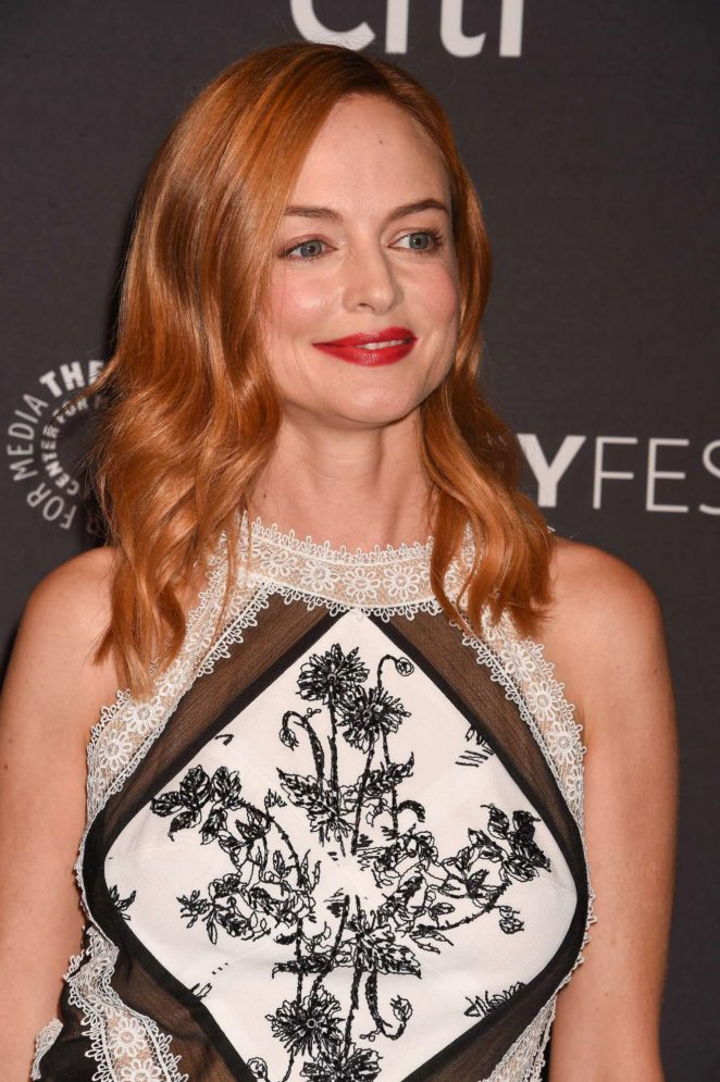 Heather Graham: 2017 Paleyfest Fall TV Preview in Los Angeles-09