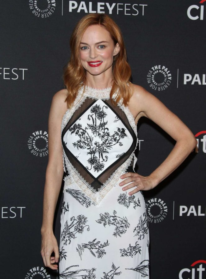 Heather Graham: 2017 Paleyfest Fall TV Preview in Los Angeles-10