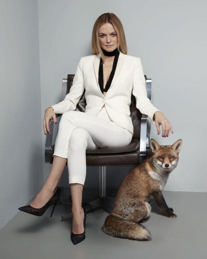 Heather Graham - Foxy Bingo and Casino Photoshoot