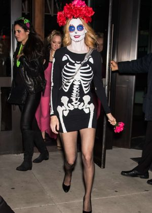 Heather Graham - Heidi Klum's 18th Annual Halloween Party in New York