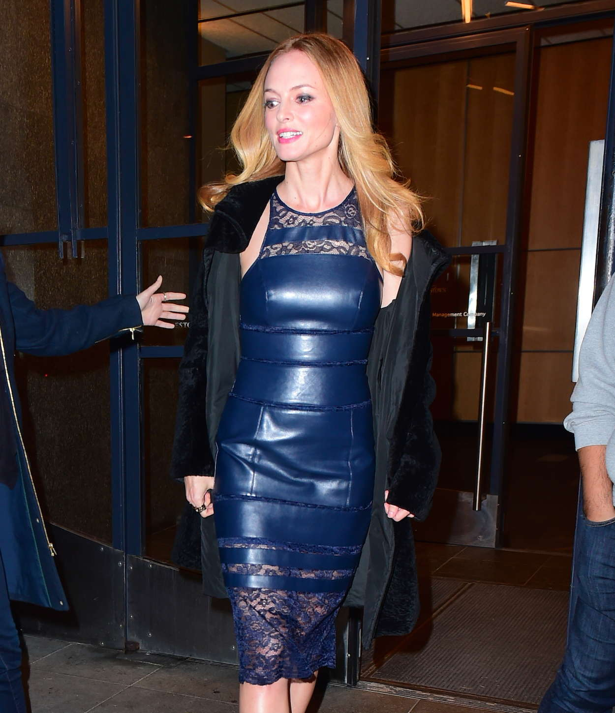 Heather Graham - Leaving Watch What Happens Live in NYC