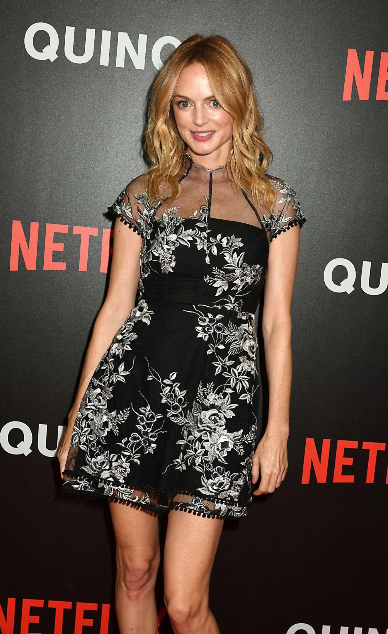 Heather Graham - 'Quincy' Special Screening in New York
