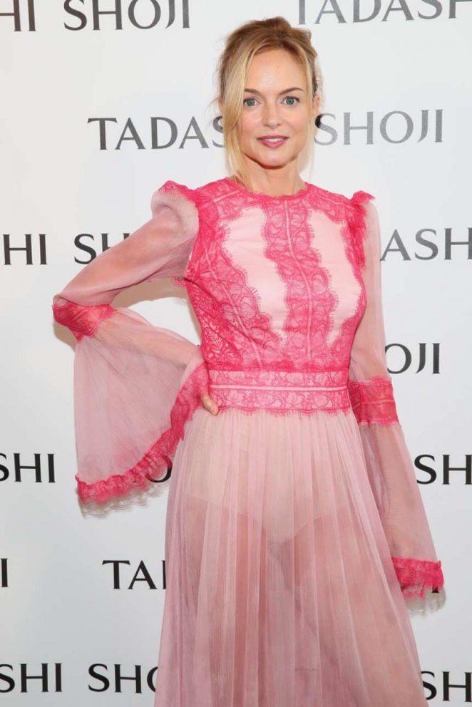 Heather Graham - Tadashi Shoji Fashion Show in NYC