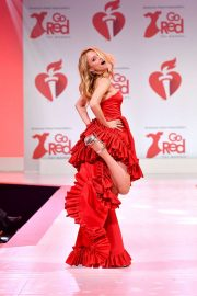Heather Graham - The American Red Heart Association's Go Red For Women Red Dress Collection in NY