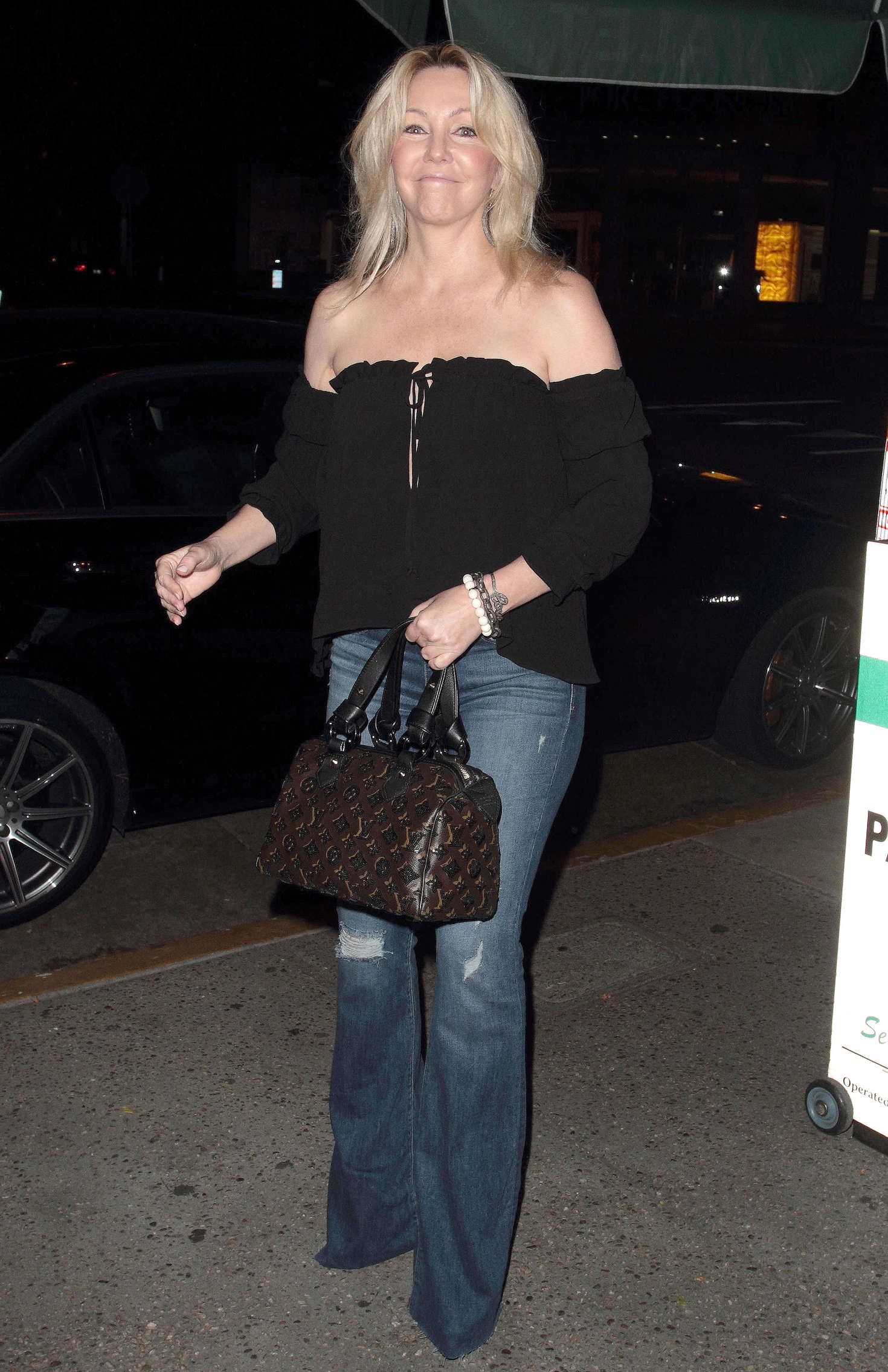 Heather Locklear - Arrives at Madeo Restaurant in Los Angeles
