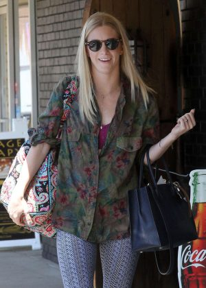 Heather Morris Arriving at Dancing with the Stars's Rehearsal in LA