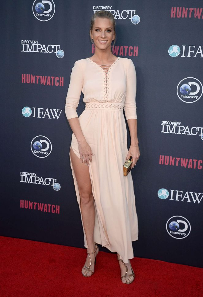 Heather Morris - 'Huntwatch' Special Screening in Hollywood