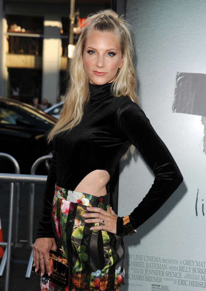Heather Morris - 'Lights Out' Premiere in Los Angeles