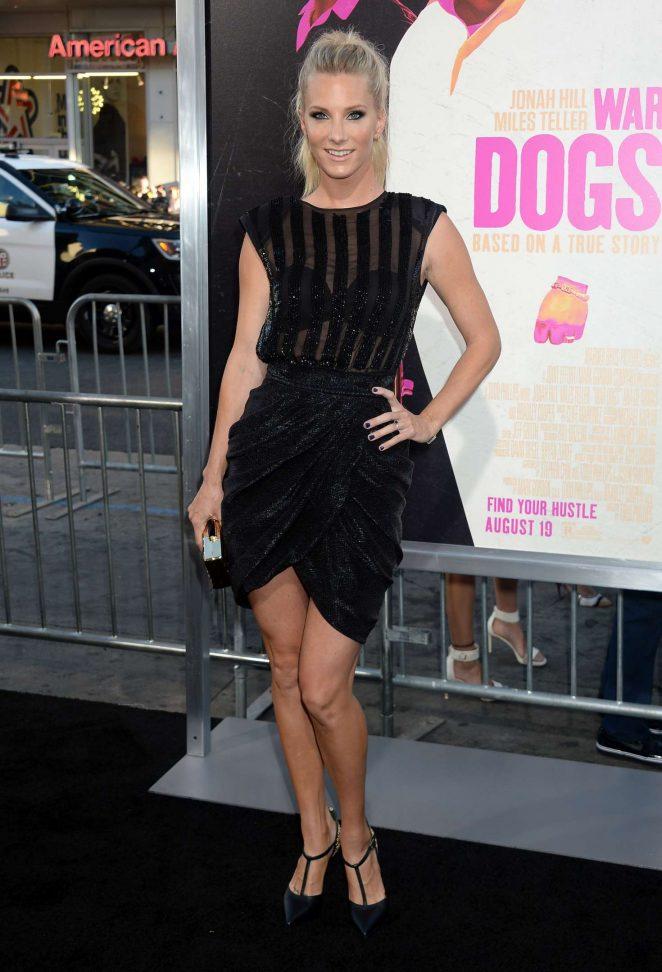 Heather Morris - 'War Dogs' Premiere in Los Angeles