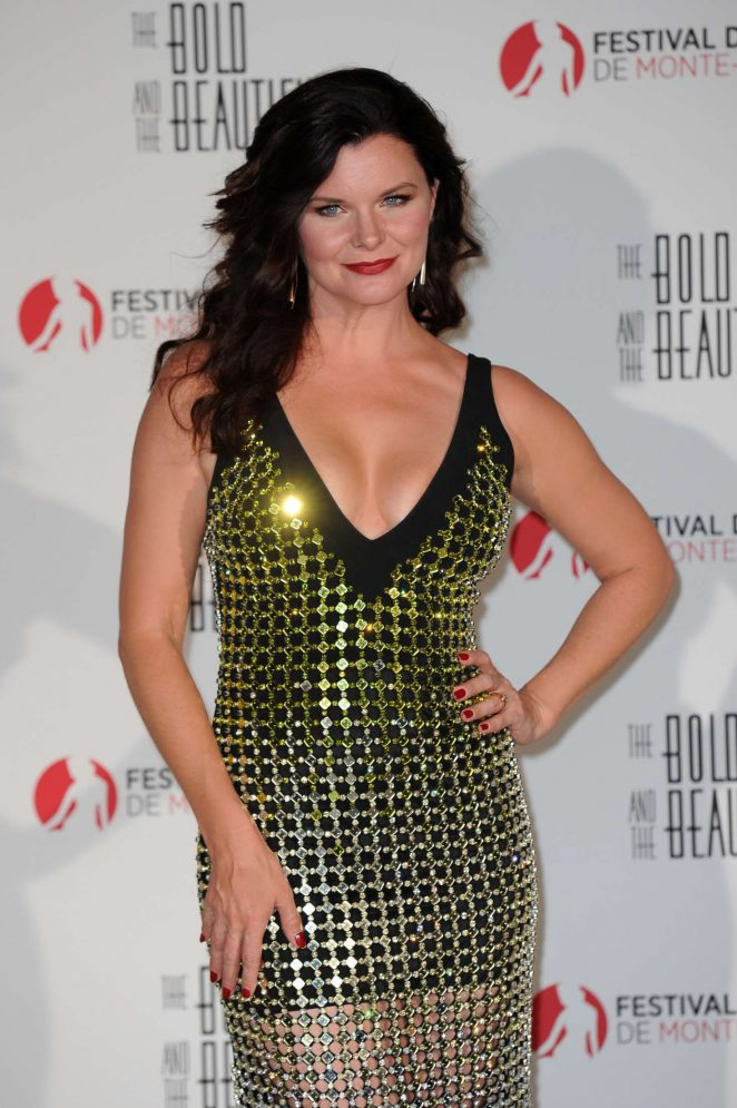 Heather Tom – 'The Bold and the Beautiful'Anniversary Event in Monte Carlo