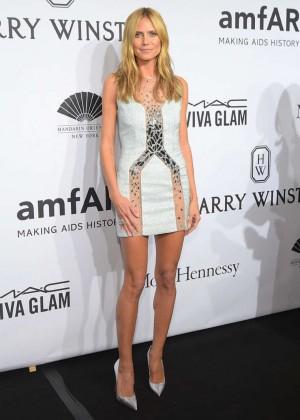 Heidi Klum - amfAR New York Gala 2015