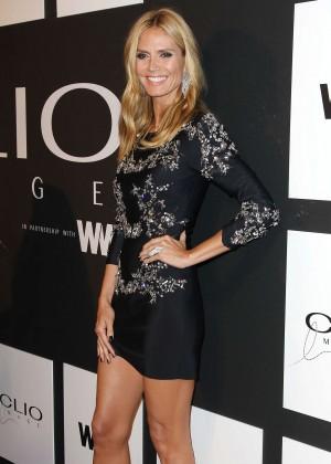 Heidi Klum - 2015 CLIO Awards in NYC