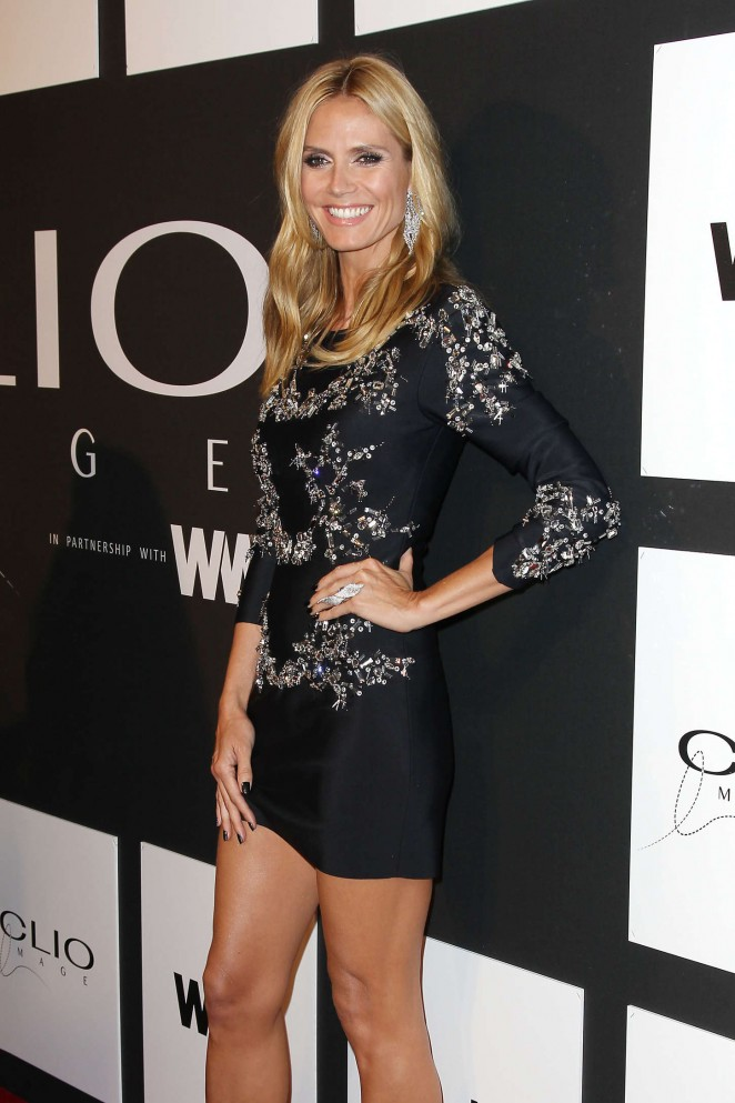 Heidi Klum - 2015 CLIO Awards in NYC