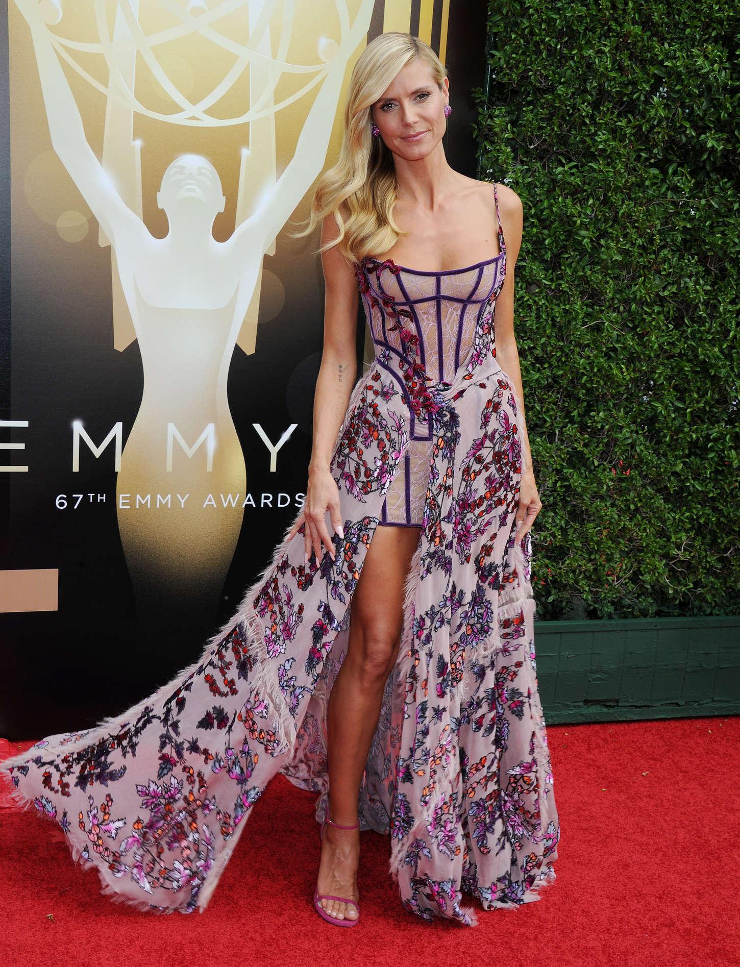 Heidi Klum 2015 : Heidi Klum: 2015 Creative Arts Emmy Awards -09