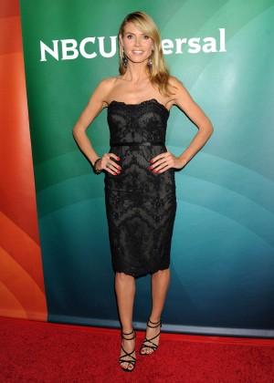 Heidi Klum - 2015 NBCUniversal Summer Press Day in Pasadena