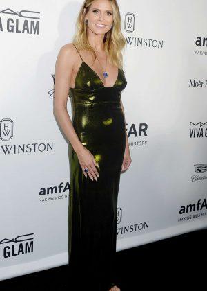 Heidi Klum - 2016 amfAR Inspiration Gala in Los Angeles