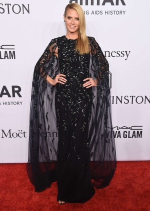 Heidi Klum - 2016 amfAR New York Gala in NYC