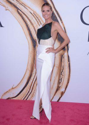 Heidi Klum - 2016 CFDA Fashion Awards in New York