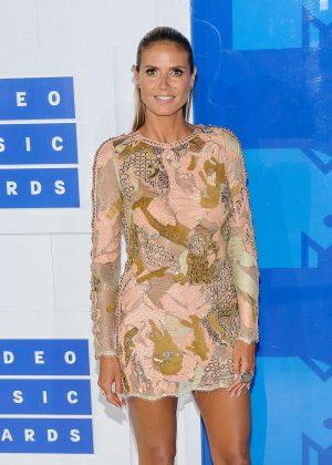 Heidi Klum - 2016 MTV Video Music Awards in New York City