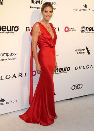 Heidi Klum - 2017 Elton John AIDS Foundation's Oscar Viewing Party in West Hollywood