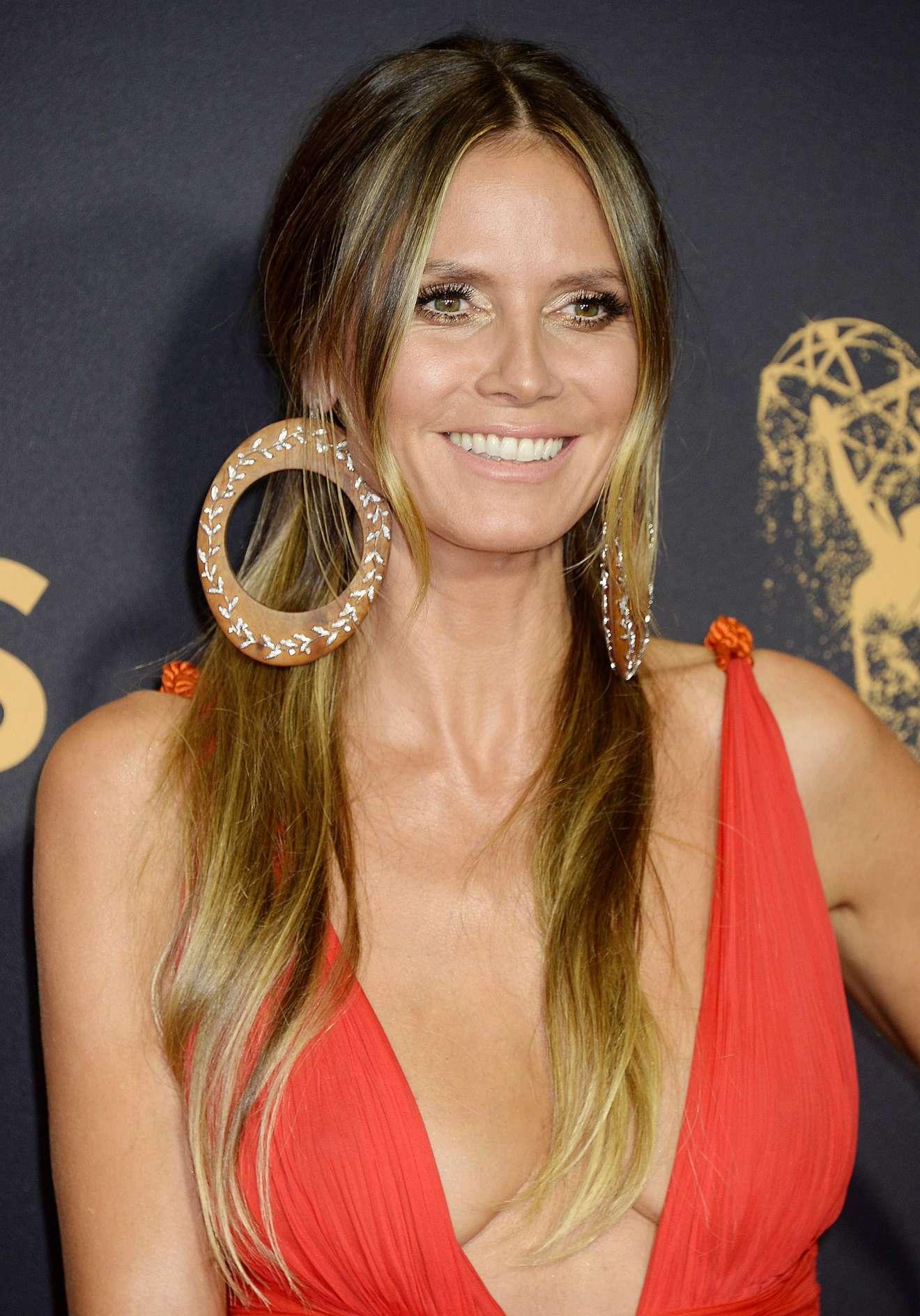 Heidi Klum - 2017 Primetime Emmy Awards in Los Angeles
