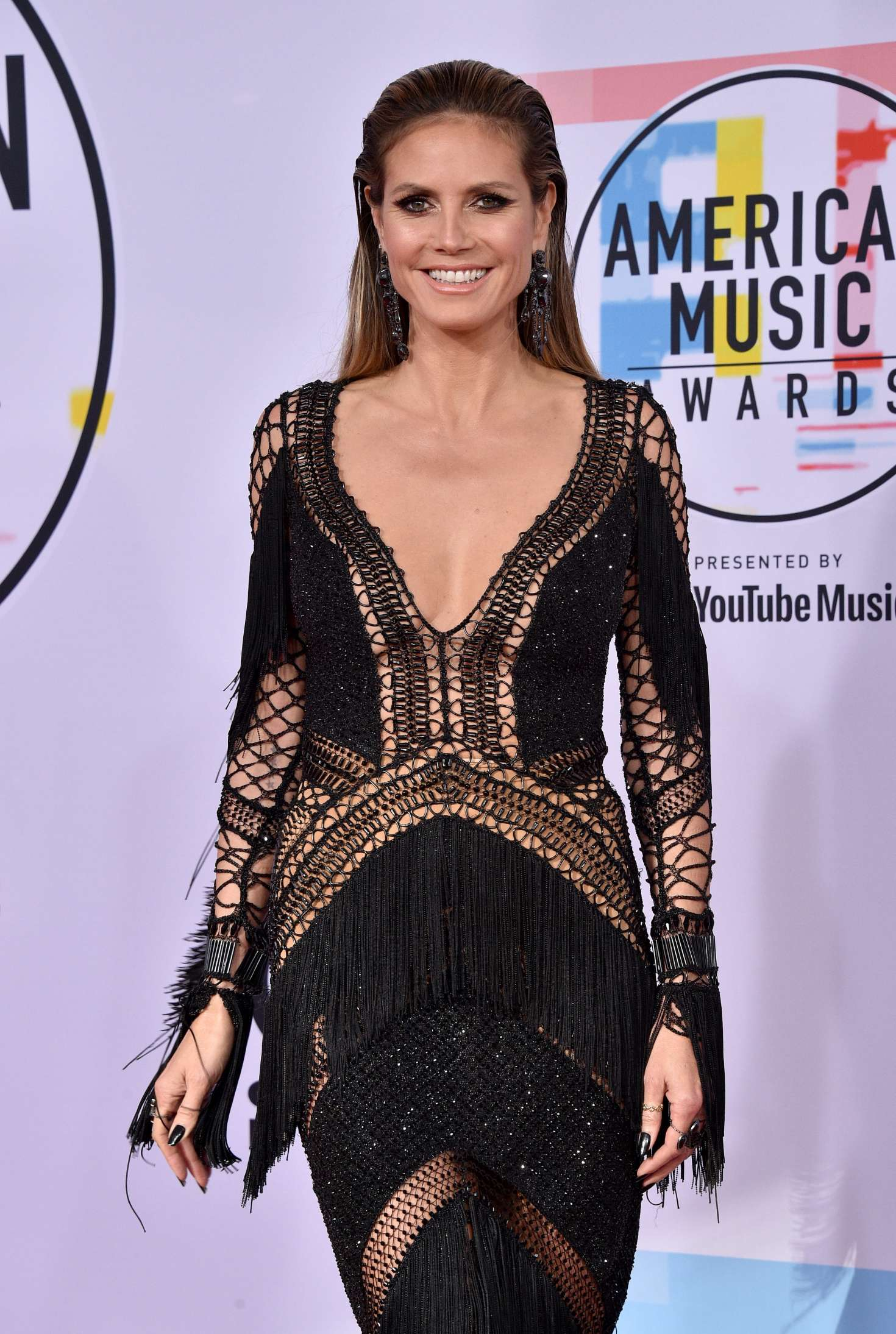 Heidi Klum - 2018 American Music Awards in Los Angeles