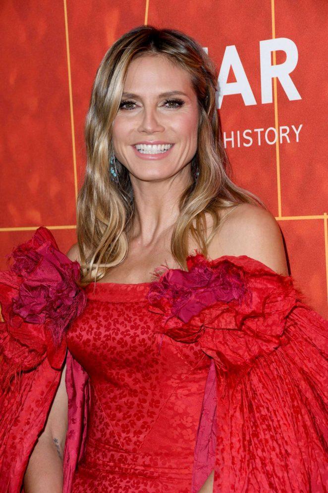 Heidi Klum – 2018 amfAR Inspiration Gala in Beverly Hills