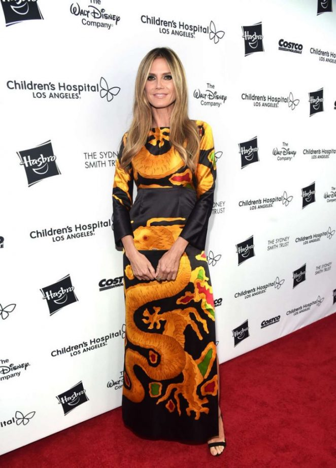 Heidi Klum - 2018 Children's Hospital Los Angeles 'From Paris With Love' Gala