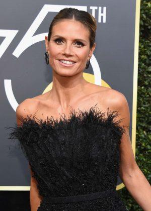 Heidi Klum - 2018 Golden Globe Awards in Beverly Hills