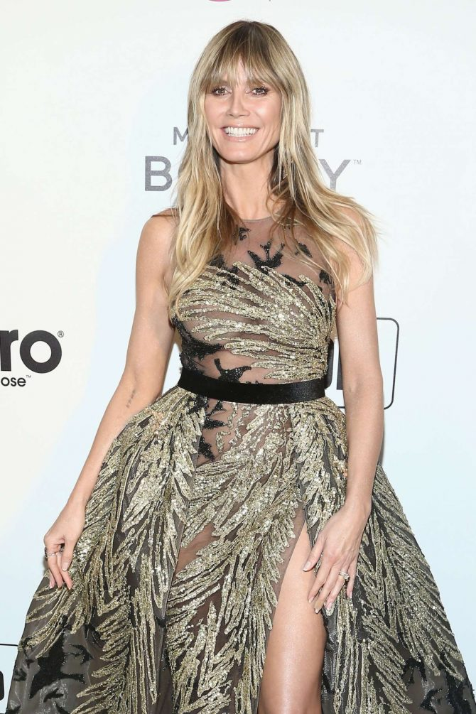 Heidi Klum - 2019 Elton John AIDS Foundation Academy Awards Viewing Party in LA