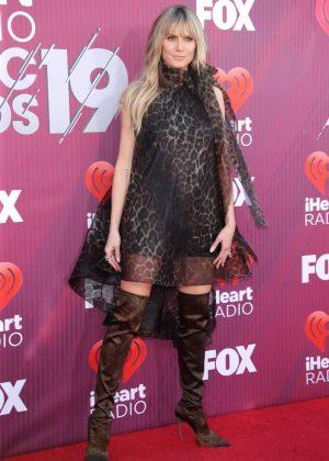 Heidi Klum - 2019 iHeartRadio Music Awards in Los Angeles