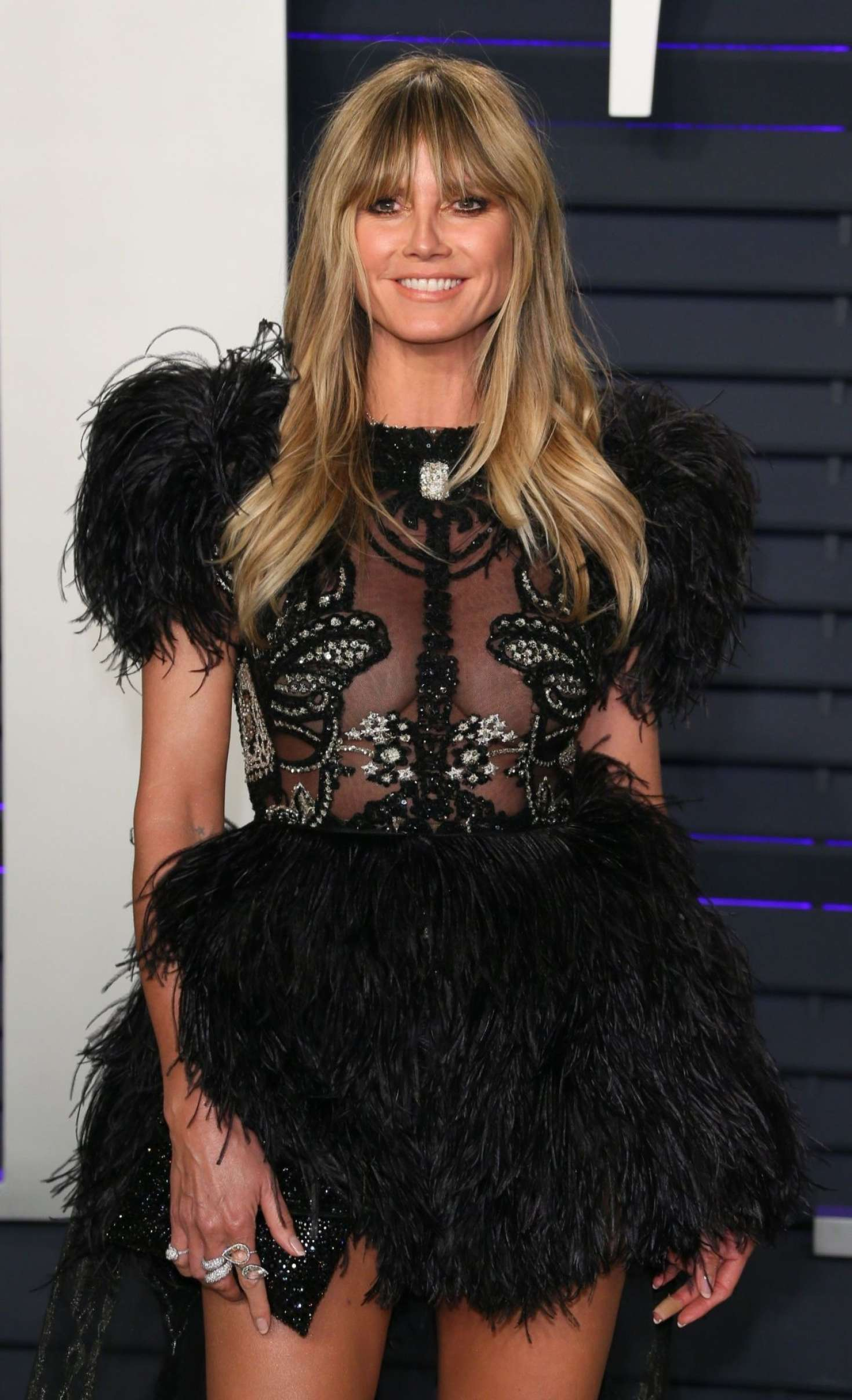 Heidi Klum - 2019 Vanity Fair Oscar Party in Beverly Hills